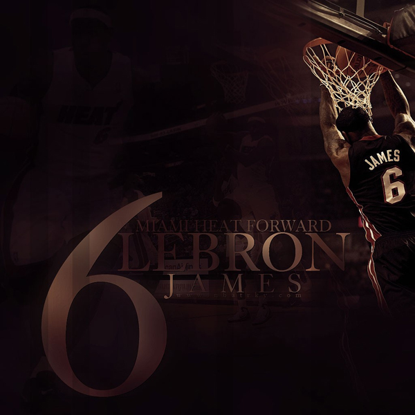 Free Download LeBron James Wallpaper for iPad 2 & iPad 23