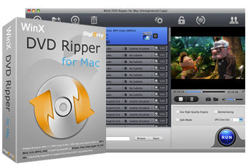 DVD Ripper for Mac - Rip and convert DVD to video on Mac