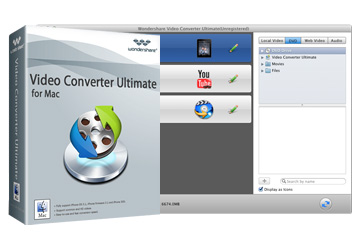Mac Video Converter - Convert videos, copy DVD & burn DVD on Mac