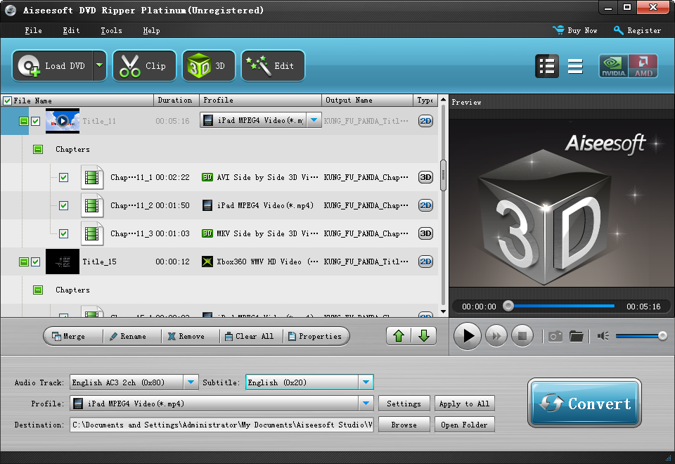 Dvd ripper best dvd decrypter dvd converter to rip dvds aolor video profile dvd ripper convert dvd by titles and chapters ccuart Images