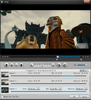 DVD Ripper: trim DVD video