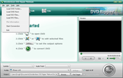DVD to iPad Converter: import DVD folder, DVD ROM, ISO files or IFO files
