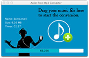Free Mac MP3 Converter: converting to MP3