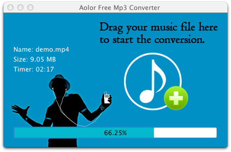 Aolor Free MP3 Converter for Mac