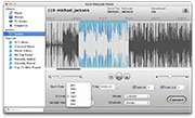 Ringtone Maker for Mac: main interface
