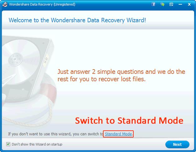 Nexus 7 recovery: Wizard Mode