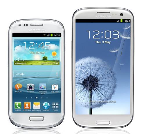 Samsung Galaxy S III Mini vs Galaxy S III