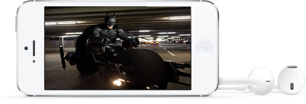 Watch DVD movies on iPhone 5
