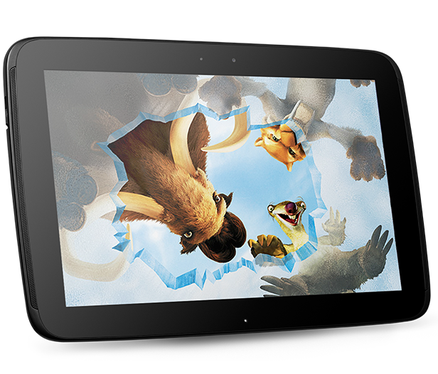 Watch DVD movies on Nexus 10