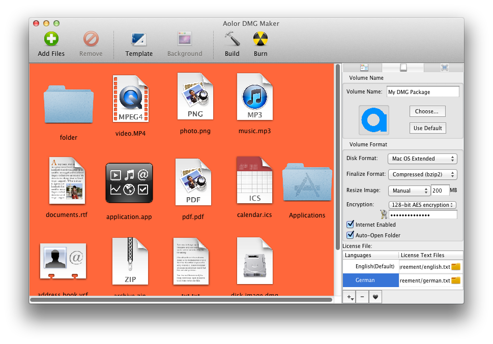 how to open dmg disks on mac
