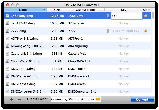 Input DMG keys