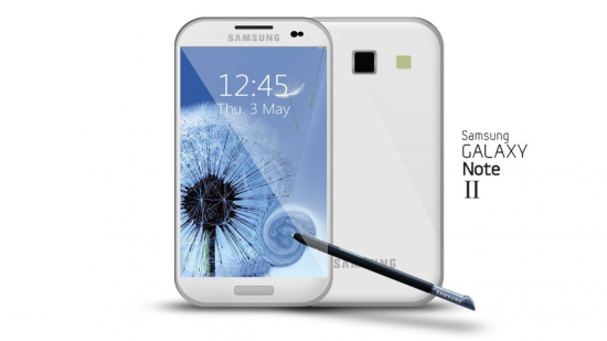 DVD to Galaxy Note 2: Samsung Galaxy Note II