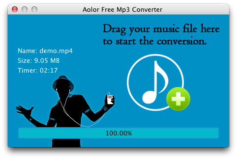 To MP3 conversion finished