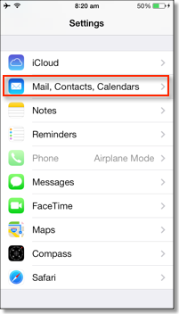 how to add msn email to iphone 7