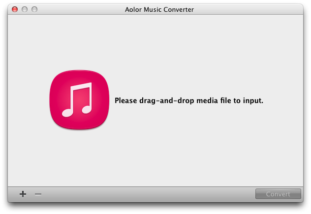 Aolor Music Converter for Mac Sreenshot