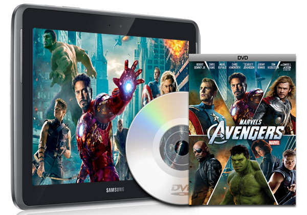Play DVD on Samsung Galaxy Note 10.1