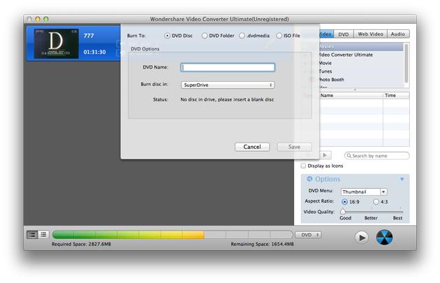 Video Converter Ultimate Mac: copy & burn DVD