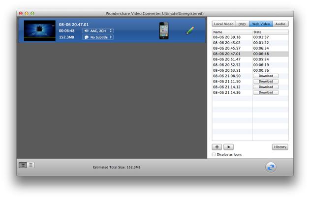 Video Converter Ultimate Mac: download online videos