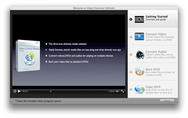 Video Converter Ultimate Mac: Video Tutorials