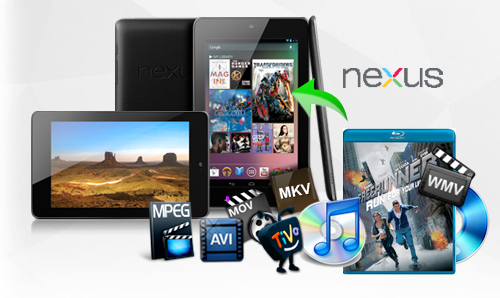 Video to Nexus 7: transfer videos to Nexus 7