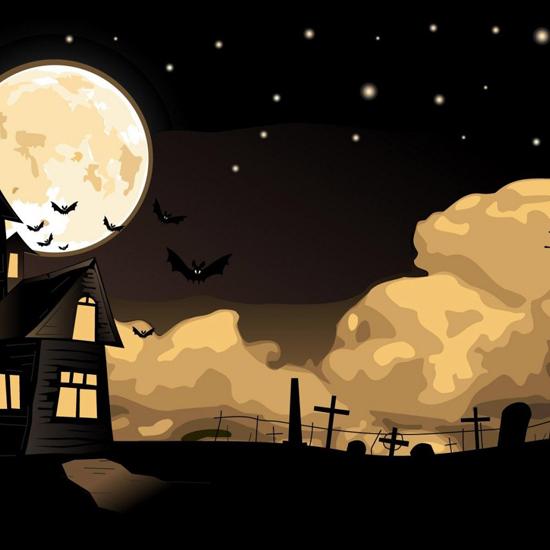 iPad Wallpaper for Halloween 1