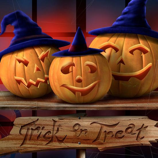 iPad Wallpaper for Halloween 31