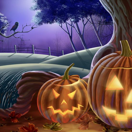 iPad Wallpaper for Halloween 32