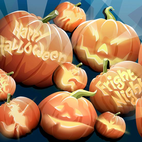 iPad Wallpaper for Halloween 37
