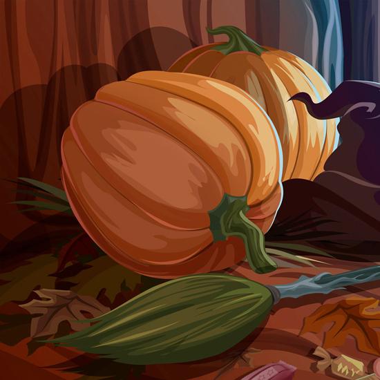 iPad Wallpaper for Halloween 48