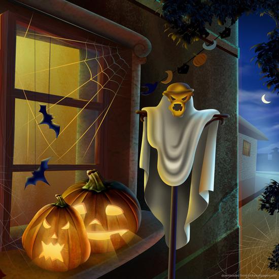 iPad Wallpaper for Halloween 54