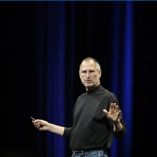 Free Steve Jobs iPad Wallpaper 1