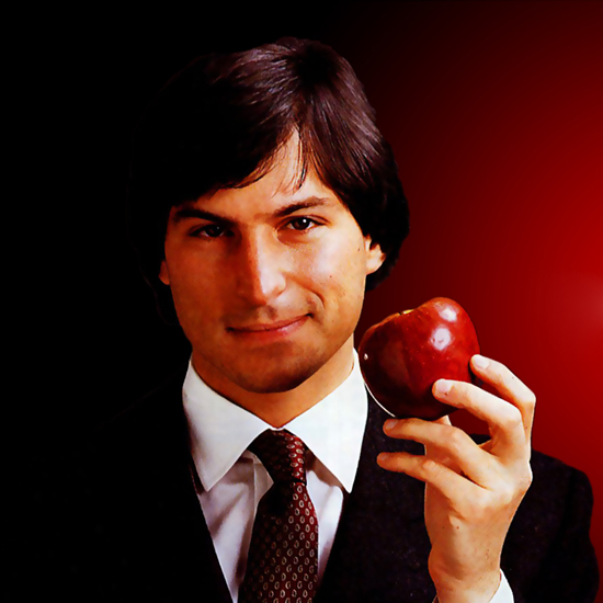 Free Steve Jobs iPad Wallpaper 12