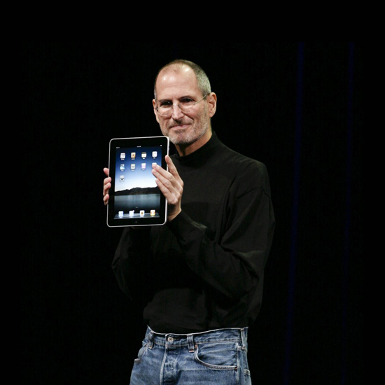Free Steve Jobs iPad Wallpaper 17