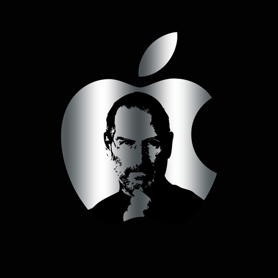 Free Steve Jobs iPad Wallpaper 18