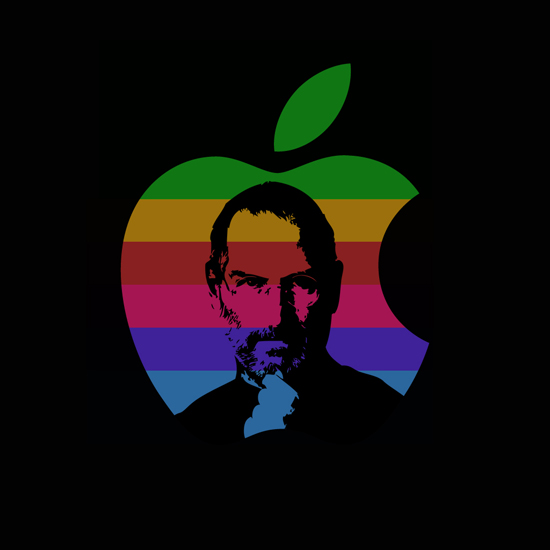 Free Steve Jobs iPad Wallpaper 19