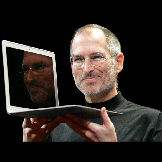 Free Steve Jobs iPad Wallpaper 3
