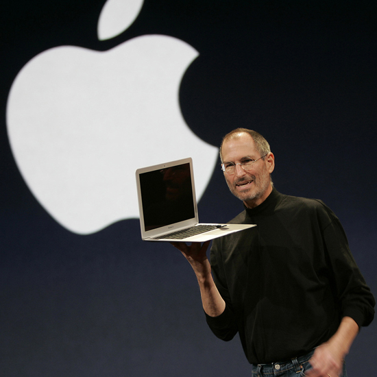 Free Steve Jobs iPad Wallpaper 7