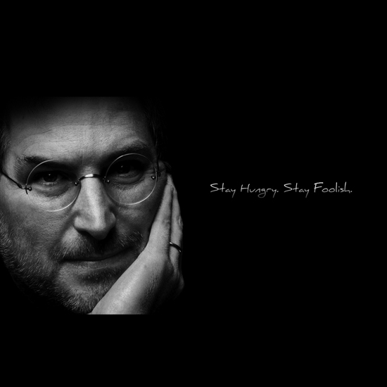 Free Steve Jobs iPad Wallpaper 8