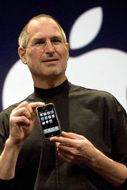 Steve Jobs iPhone 4S, iPhone 4 & iPod touch 4G Free Wallpaper 21