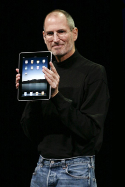 Steve Jobs iPhone 4S, iPhone 4 & iPod touch 4G Free Wallpaper 22