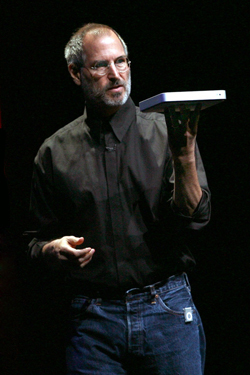 Steve Jobs iPhone 4S, iPhone 4 & iPod touch 4G Free Wallpaper 23