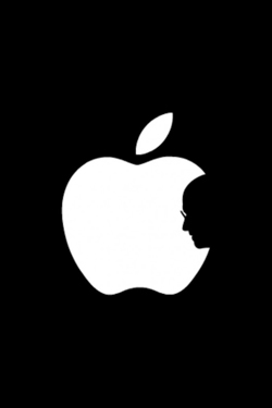 Steve Jobs iPhone 4S, iPhone 4 & iPod touch 4G Free Wallpaper 3