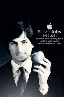 Steve Jobs iPhone 4S, iPhone 4 & iPod touch 4G Free Wallpaper 41