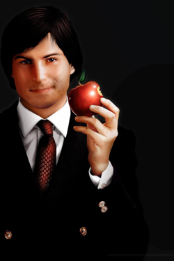 Steve Jobs iPhone 4S, iPhone 4 & iPod touch 4G Free Wallpaper 42