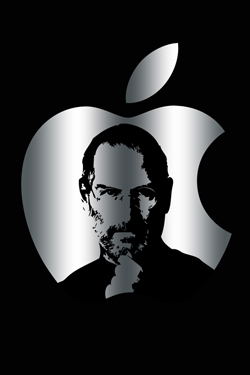 Steve Jobs iPhone 4S, iPhone 4 & iPod touch 4G Free Wallpaper 48