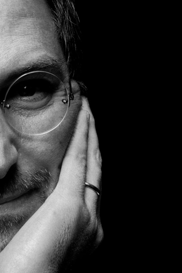 Steve Jobs IPhone 4S 4 IPod Touch 4G Free Wallpaper