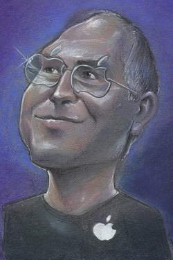 Steve Jobs iPhone 4S, iPhone 4 & iPod touch 4G Free Wallpaper 54