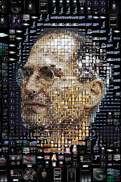 Steve Jobs iPhone 4S, iPhone 4 & iPod touch 4G Free Wallpaper 6