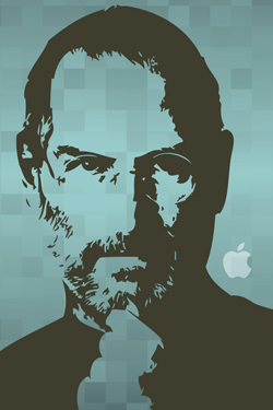 Steve Jobs iPhone 4S, iPhone 4 & iPod touch 4G Free Wallpaper 8