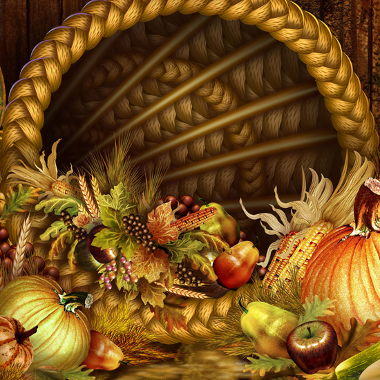 Free Thanksgiving Wallpapers for iPad: Bumper Harvest 17